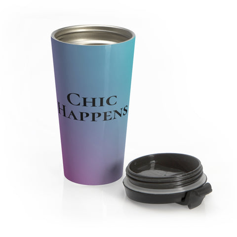 Chic Happens Gradient Stainless Steel Mug