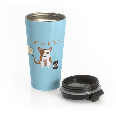 Pitbull Stainless Steel Mug