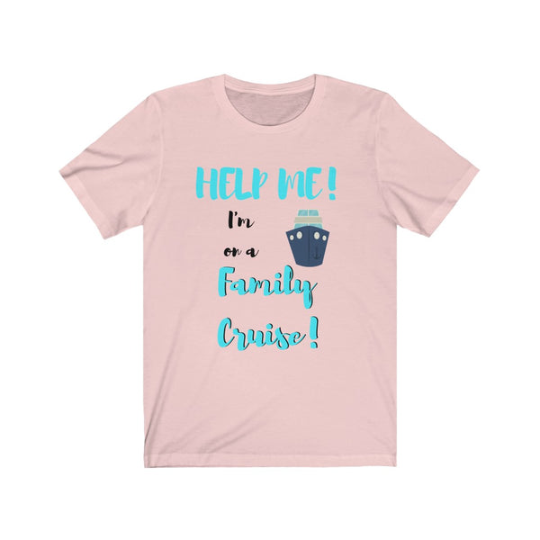Help Me In a Family Cruise - DJ Short Sleeve Tee