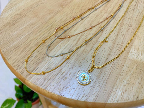 Miss Delicate Flower Necklaces