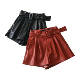 Vixie Leather Short