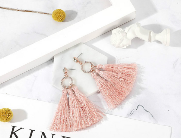 Elyann Tassel Earrings
