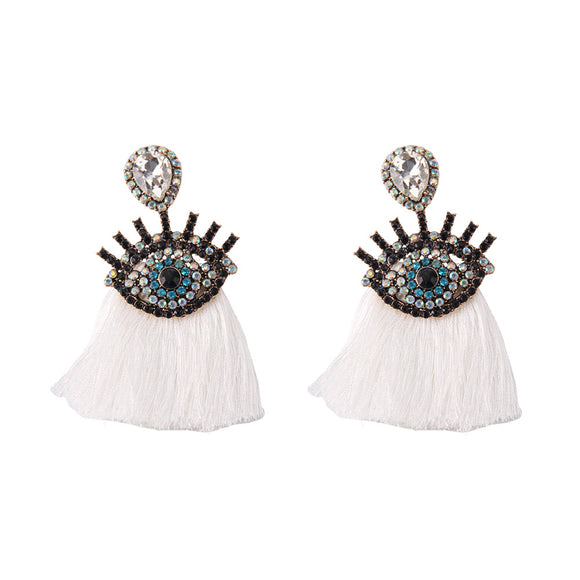Fashionista Tassel Earrings