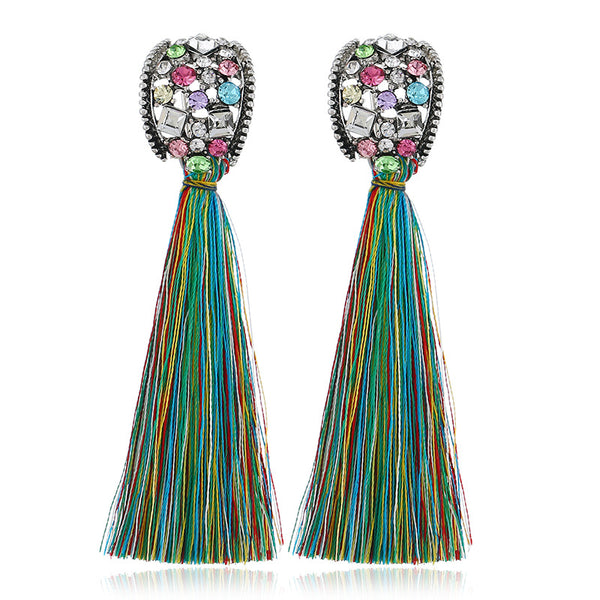 Litzaira Tassel Earrings