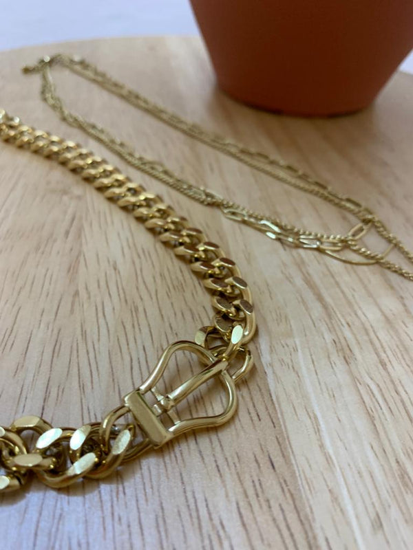 Carola Gold Coin Multi-Necklaces