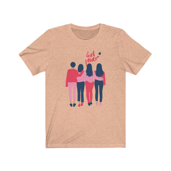 Girl Power- DJ Short Sleeve Tee