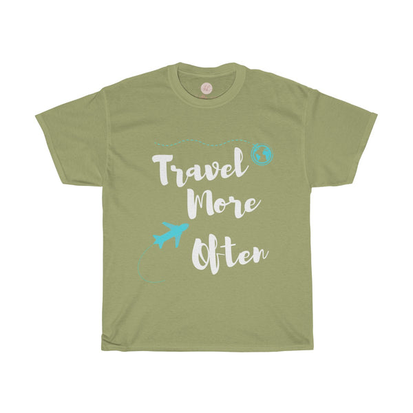 Travel More Often Tee| Travel More Often T-Shirt