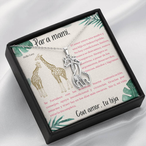 Amor de una Madre y una hija... Necklace