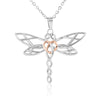 Para mi hija - Amor Incondicional Dragonfly Necklace