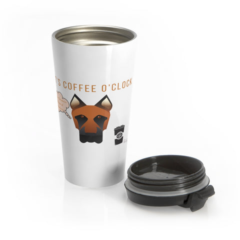 German Shepherd Stainless Steel Mug