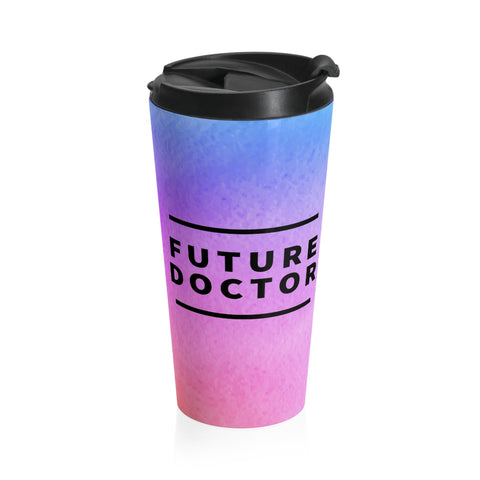 Future Doctor Gradient Stainless Steel Mug