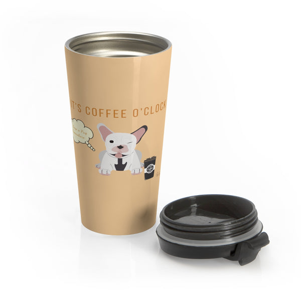 Pug Stainless Steel Mug 2