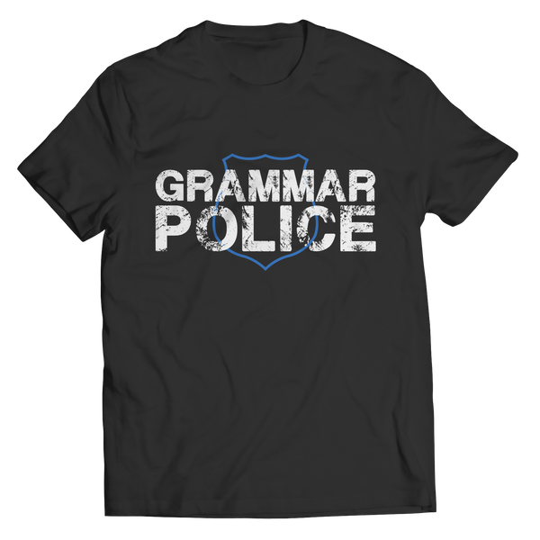 Grammar Police - Youth Tees