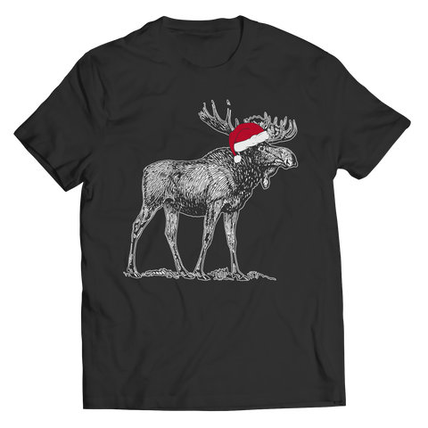 Christmas Moose - Unisex Shirt