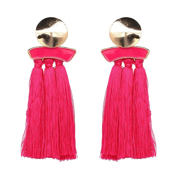 Delyanne Tassel Earrings- Multiple Styles