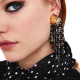 Ailina Crystal Beads Earrings