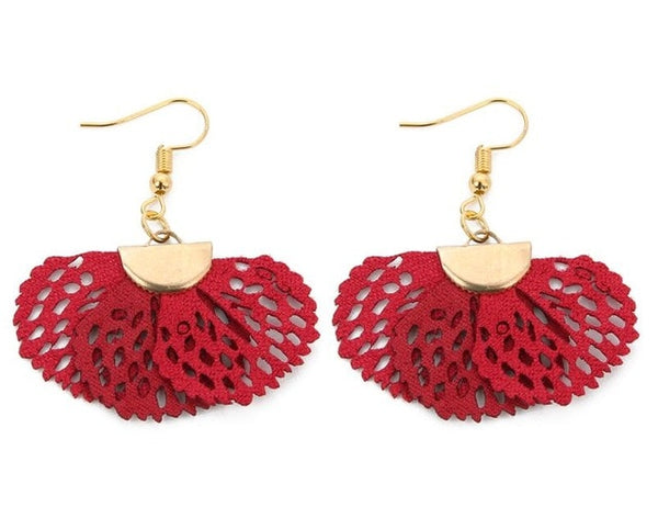 Ary Vintage Leather Earrings