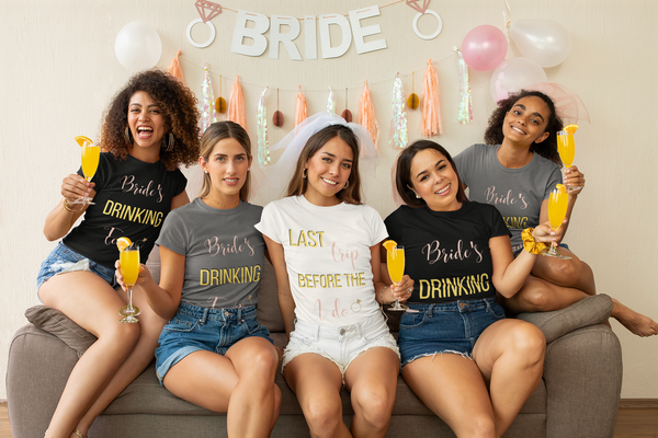 Bride's Drinking Team- DJ Short Sleeve Tee