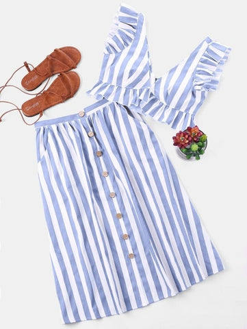 Vintage Modern Stripes Set