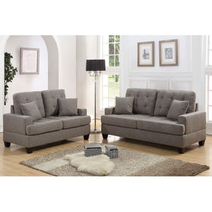 Sofa and Loveseat Set, Coffee