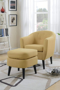 California Chic- Accent Chair & Ottoman