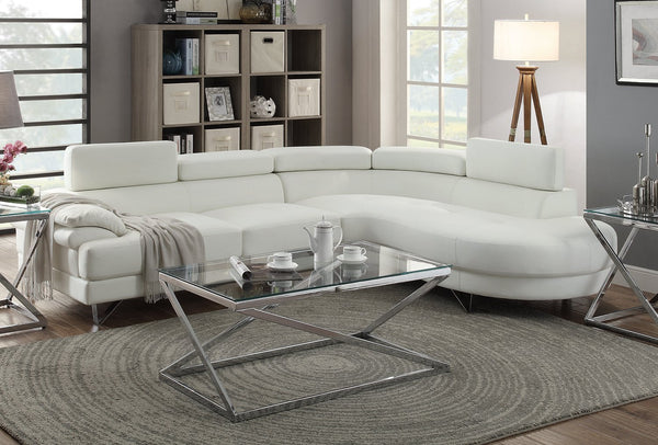CityLife - Modern Faux Leather Sectional