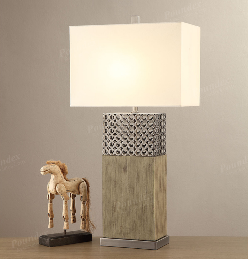 Modern / Rustic Table Lamp