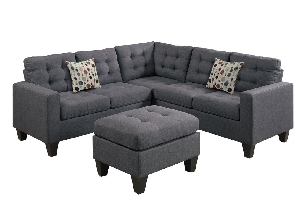 Transitional Style - Sectional Set