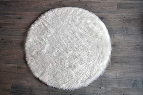 Fuax Sheepskin Rugs (Nursery)