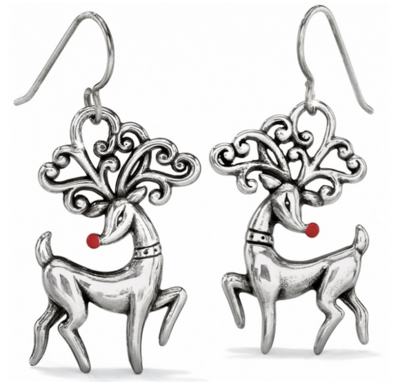 Brighton Reindeer French Wire Earrings