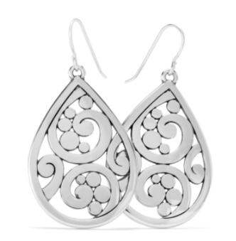 Brighton Contempo Teardrop French Wire Earrings