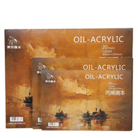 Professional Oil & Acrylic Painting Paper Sheets