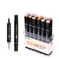 Skin Tone Markers - Set of 12