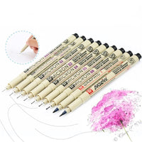 Sakura Pigma Micron Pens - Set of 9