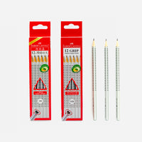 Faber-Castell Triangular Grip Pencils 2B/HB - Set of 12