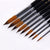 Steeple Nylon Paint Brushes - Set of 9