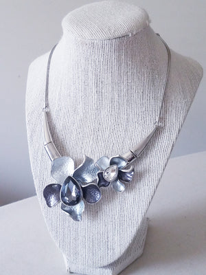 Women's Flower Necklace Set