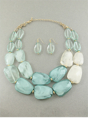 Women's Layered Necklace Set
