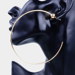 Women's  Oversized Hoop Earrings