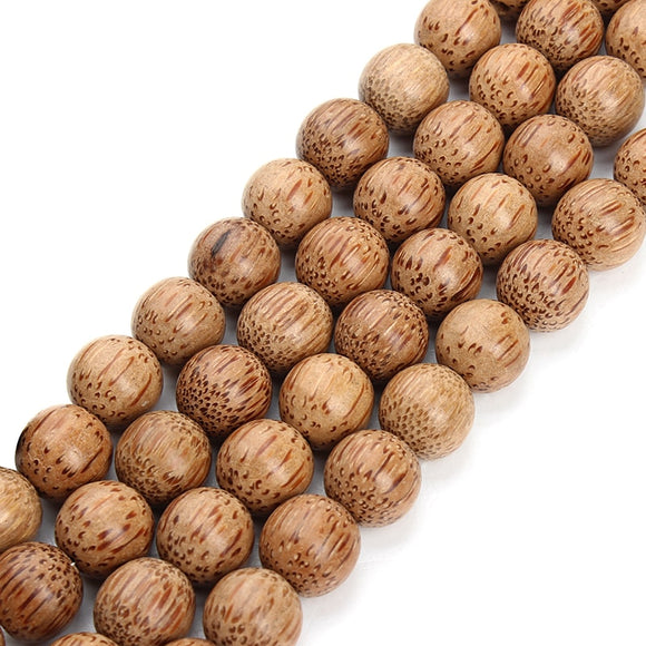 XINYAO 11 14 mm Natural Wood Beads Necklace Bracelet Findings Round Loose Space Beads For Diy Jewelry Making Perle Bois F3674