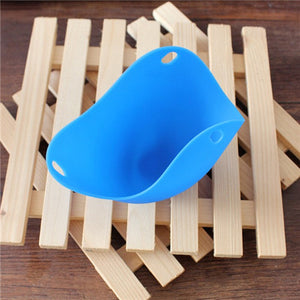 Eco-friendly Nontoxic Heat Resisting Silicone Egg-boiler Top Quality Egg Poacher Cooking Tools