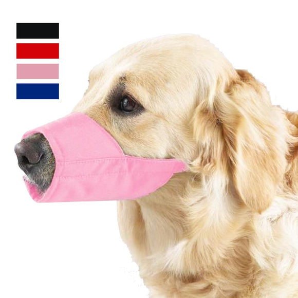 Dog Mouth Muzzle Adjustable Mask For Small Medium Large Dogs Anti Bark Bite Chew Dog Muzzles Training Products Pet Accessories