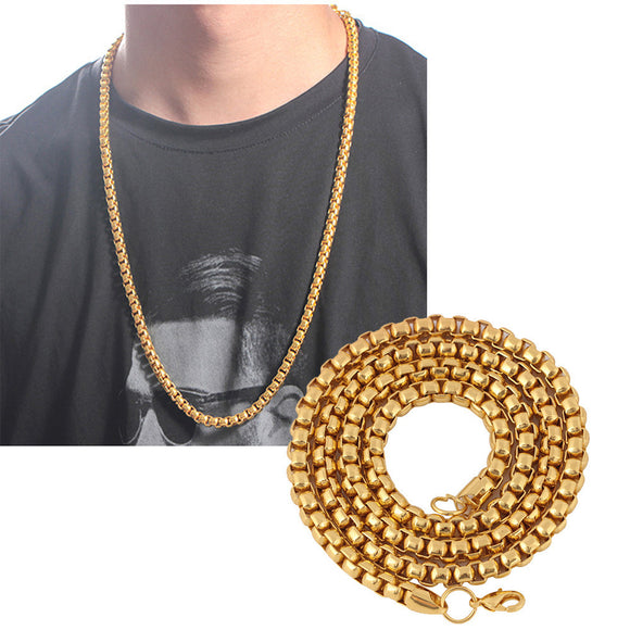 Fashion Luxury Jewerly Yellow Gold plated Necklace