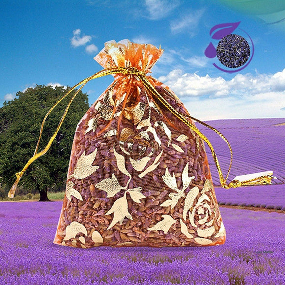 1 PCS Wardrobe with fragrant deodorant dry petals scented sachet natural dried Lavender flowers
