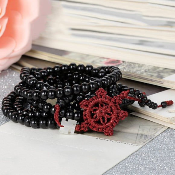 Sandalwood beads 216 pcs Tibetan Buddha Mala Buddhist bracelet necklace Buddhist Collar