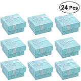 24pcs Jewelery Organizers Storage Gift Boxes for Earring Bracelet Necklace