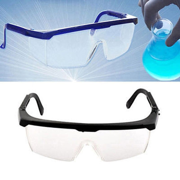 1 Pcs New Vented Safety Eye Protection Protective Lab Anti Fog Clear Goggles Glasses