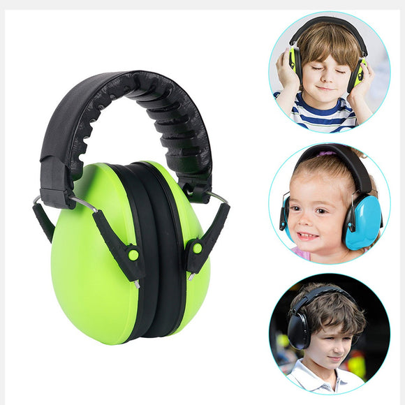 Baby Noise Canceling Head-phones Kids Earmuffs Best Hearing Protectors–Adjustable Headband Ear Defenders For Children and Adults