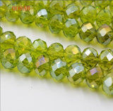 multi color 4mm 145PCS Bicone crystal beads Cut Faceted Round Glass Beads,bracelet necklace Jewelry Making DIY