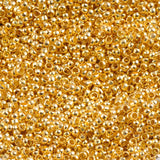 Setting Beads Sale 1000Pcs Gold Silver Plated Round Spacer Loose Charms beads 2 mm for Jewelry making Hole 1.5 mm YKL0378-2mm